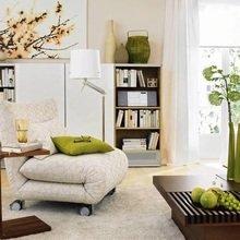Фотография: Гостиная в стиле Современный, Малогабаритная квартира, Дома и квартиры – фото на InMyRoom.ru