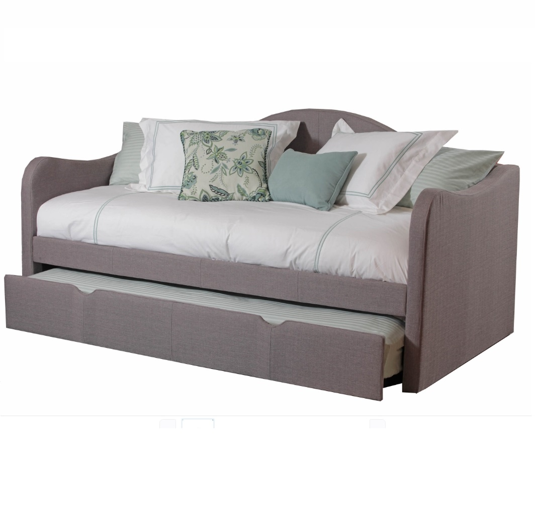 Диван-кровать Kumo фиолетового цвета 90х200