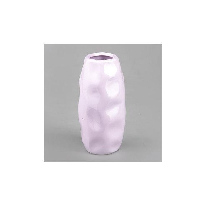 Ваза серии STYLISH. Светло- розовая. Большая