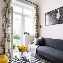 Фотография: Гостиная в стиле Скандинавский, Малогабаритная квартира, Квартира – фото на InMyRoom.ru