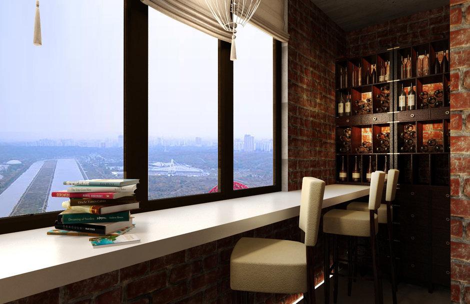 Фотография: Балкон, Терраса в стиле Лофт, Восточный, Квартира, Дома и квартиры, Проект недели, Переделка – фото на InMyRoom.ru