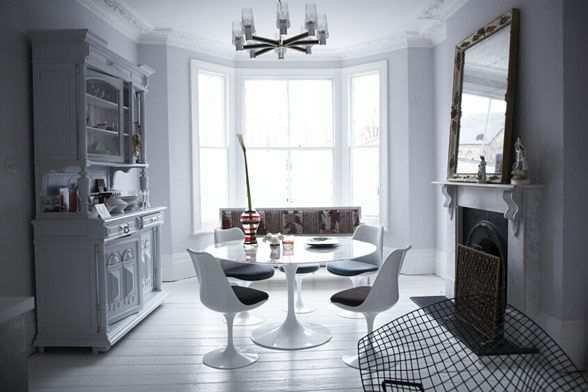 Фотография: Кухня и столовая в стиле Современный, Дом, Дома и квартиры, Минимализм, Фьюжн, Пэчворк – фото на InMyRoom.ru