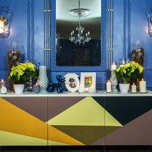 """Фото из портфолио """"Спальня в синих тонах"""" для программы """"Фазенда"""" – фотографии дизайна интерьеров на INMYROOM"""