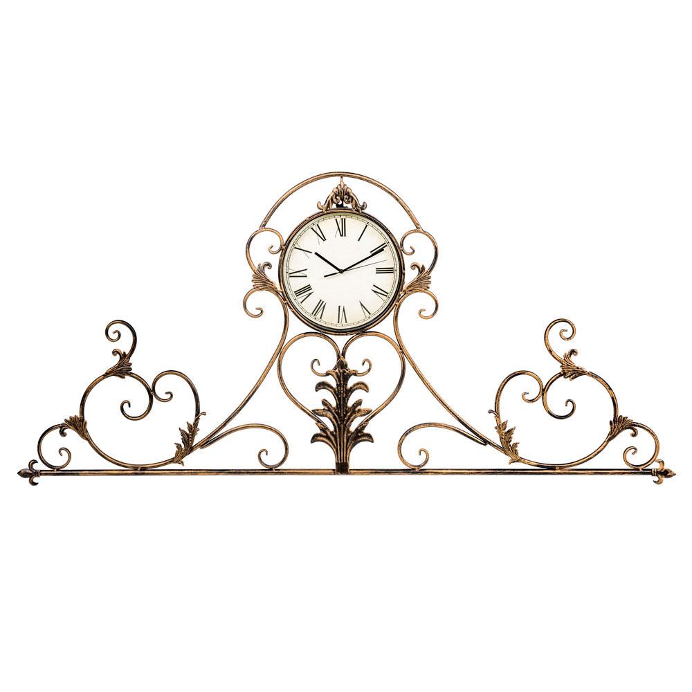 Настенные часы вуаль-руж королевская бронза