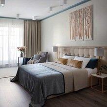 Фотография: Спальня в стиле Современный, Квартира, Проект недели, Москва, новостройка, Дизайн в кубе, ЖК Английский квартал – фото на InMyRoom.ru
