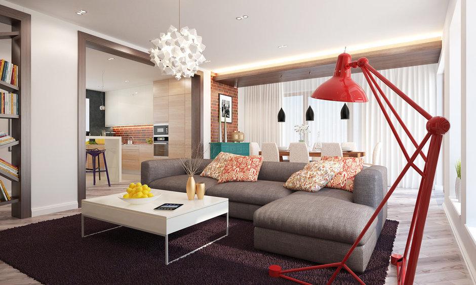 Фотография: Гостиная в стиле Современный, Эклектика, Квартира, Дом, Дома и квартиры, IKEA – фото на InMyRoom.ru