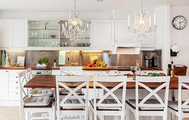 Фотография: Кухня и столовая в стиле Скандинавский, Дизайн интерьера, Советы – фото на InMyRoom.ru