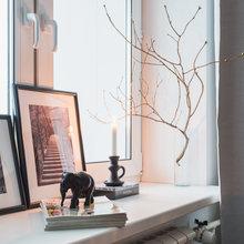 Фотография: Декор в стиле Скандинавский, Квартира, Проект недели, Москва, ИКЕА, Анна Ковальченко, Кирпичный дом, 1 комната, до 40 метров – фото на InMyRoom.ru