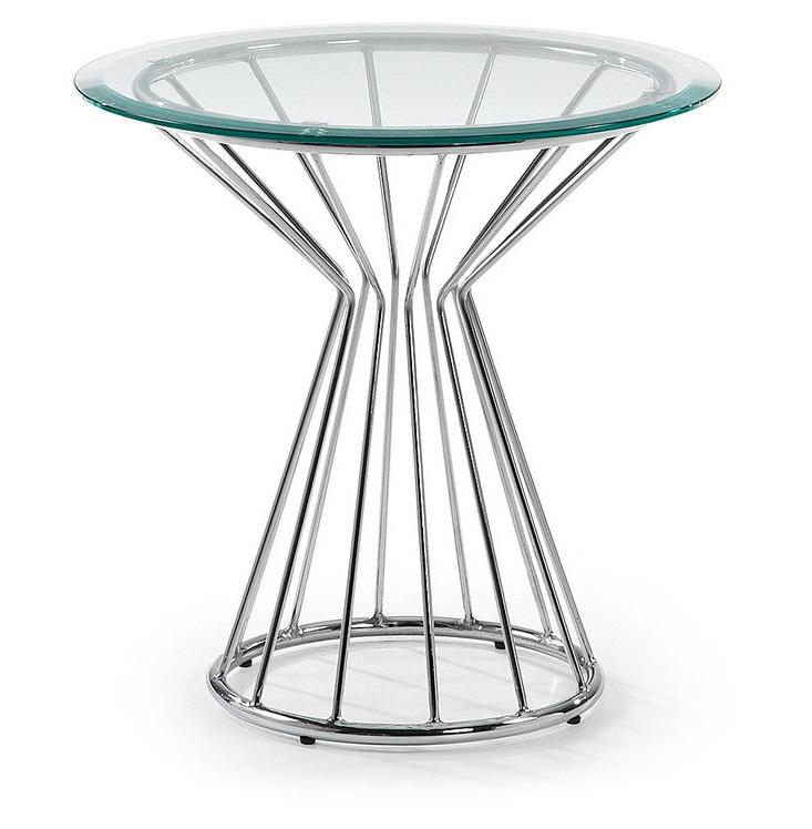 Столик Julia Grup Lime из металла и стекла