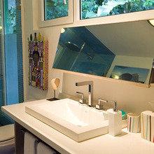 Фотография: Ванная в стиле Современный, Дома и квартиры, Городские места, Отель – фото на InMyRoom.ru