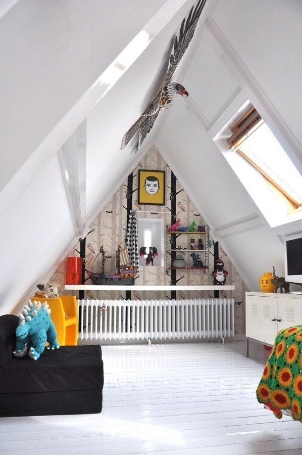 Фотография: Декор в стиле Восточный, Дом, Чердак, Мансарда – фото на InMyRoom.ru