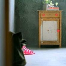 Фотография:  в стиле Кантри, Современный, Декор интерьера, Дизайн интерьера, Цвет в интерьере, Желтый, Розовый, Оранжевый, Неон – фото на InMyRoom.ru