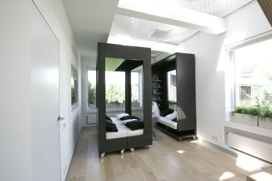 Фотография: Спальня в стиле Современный, Квартира, Дома и квартиры, Советы – фото на InMyRoom.ru