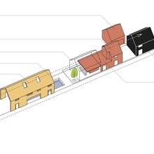 Фотография: Планировки в стиле , Дом, Дома и квартиры, Архитектурные объекты, Панорамные окна – фото на InMyRoom.ru