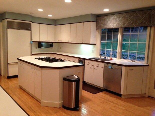 Фотография: Кухня и столовая в стиле Современный, Дом, Дома и квартиры, Переделка – фото на InMyRoom.ru