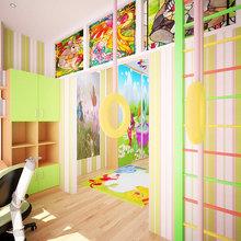 Фото из портфолио Американский лофт с позитивными акцентами 130 кв. м – фотографии дизайна интерьеров на InMyRoom.ru