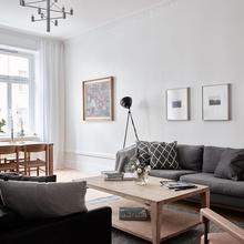 Фото из портфолио Великолепная просторная 3-комнатная квартира, площадью 97 кв.м  – фотографии дизайна интерьеров на INMYROOM