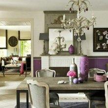 Фотография: Кухня и столовая в стиле Кантри, Декор интерьера, Декор дома, Зеркала – фото на InMyRoom.ru