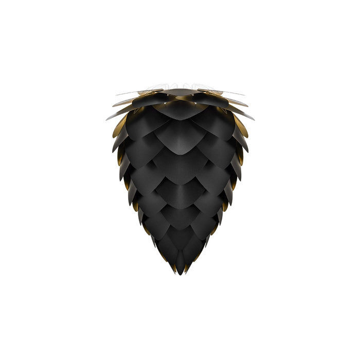 Плафон Conia black & gold черного цвета