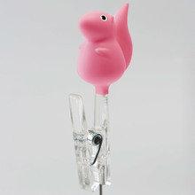 Держатель для записок squirrel розовый