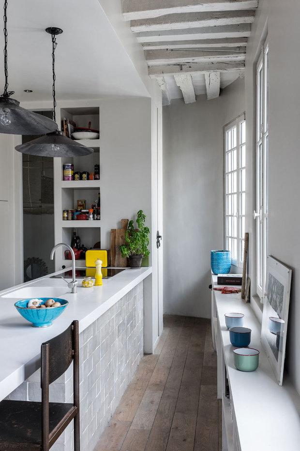 Фотография: Кухня и столовая в стиле Скандинавский, Париж, Гид – фото на INMYROOM