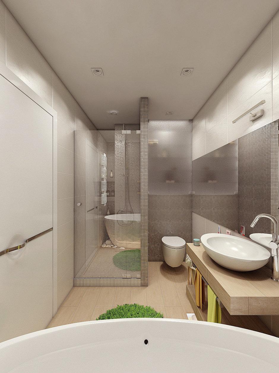 Фотография: Ванная в стиле Современный, Квартира, Дома и квартиры, IKEA, Проект недели – фото на InMyRoom.ru