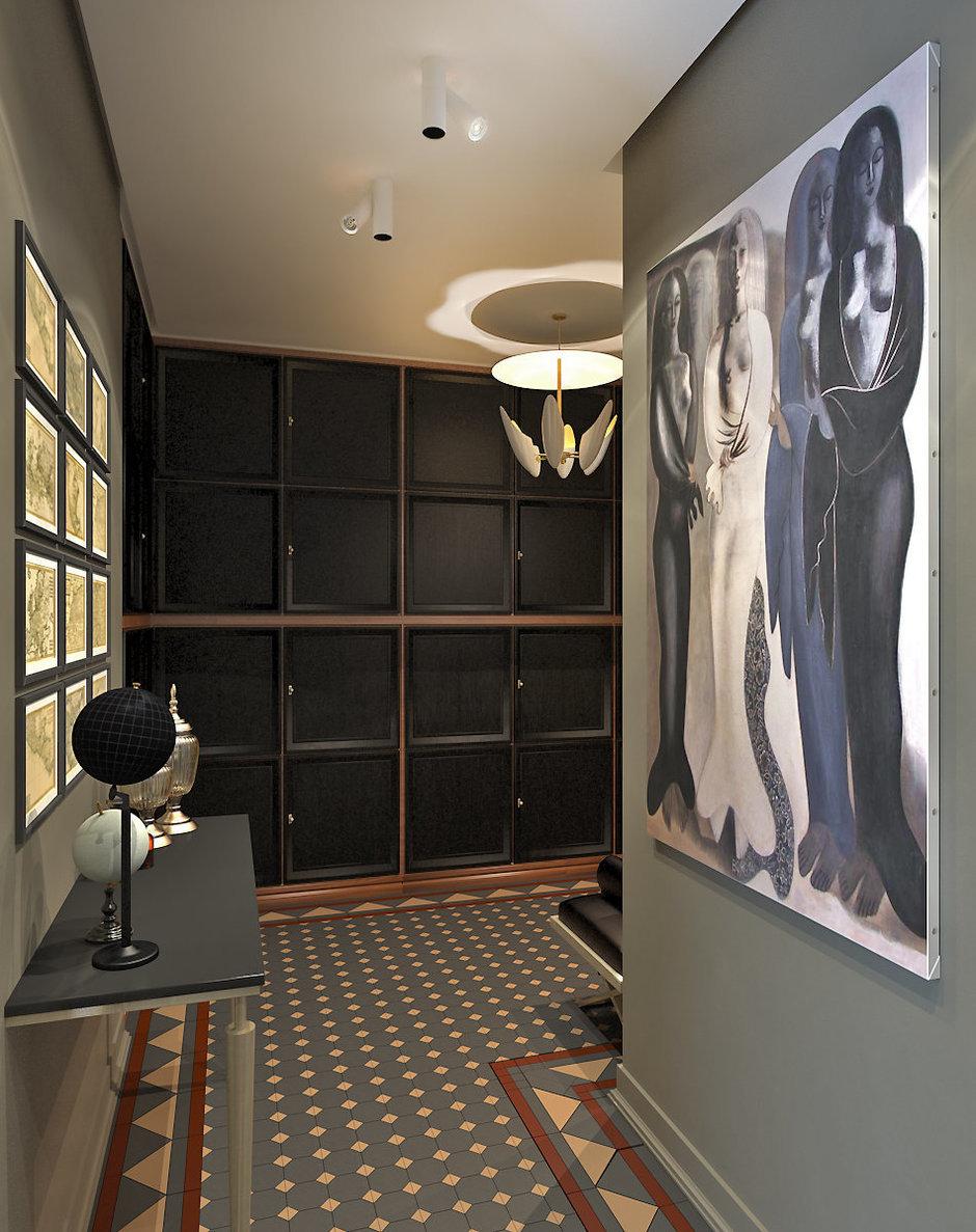 Фотография: Прихожая в стиле Восточный, Эклектика, Квартира, Дома и квартиры, Проект недели, Ар-деко – фото на InMyRoom.ru