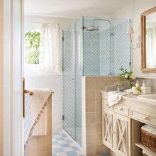 Фотография: Ванная в стиле Кантри, Дом, Терраса, Дома и квартиры, Бассейн – фото на InMyRoom.ru
