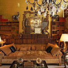Фотография: Гостиная в стиле Классический, Праздник, Стиль жизни, Советы, Новый Год – фото на InMyRoom.ru