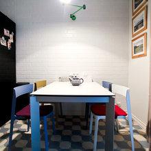 Фотография: Кухня и столовая в стиле Лофт, Скандинавский, Современный, Квартира, Проект недели – фото на InMyRoom.ru