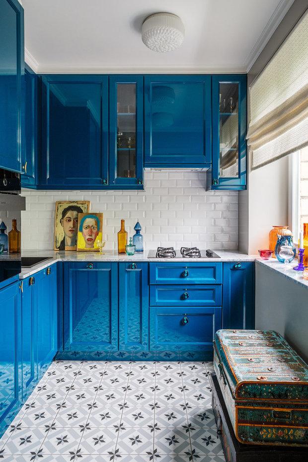 Фотография: Кухня и столовая в стиле Эклектика, Квартира, Советы – фото на INMYROOM