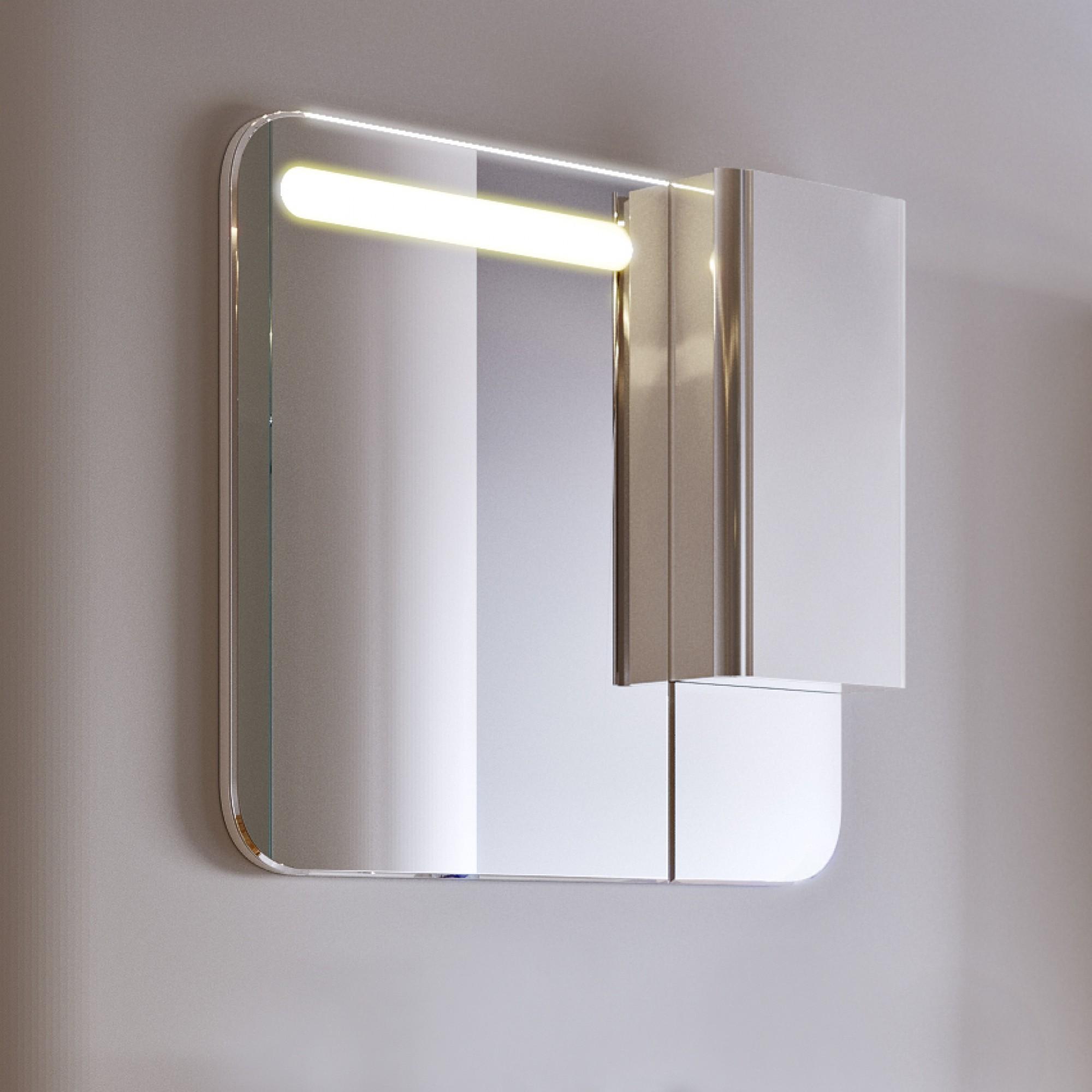 Зеркало-шкаф Largo 80