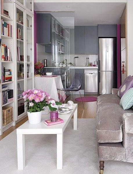 Фотография: Гостиная в стиле Современный, Малогабаритная квартира, Квартира, Советы – фото на InMyRoom.ru