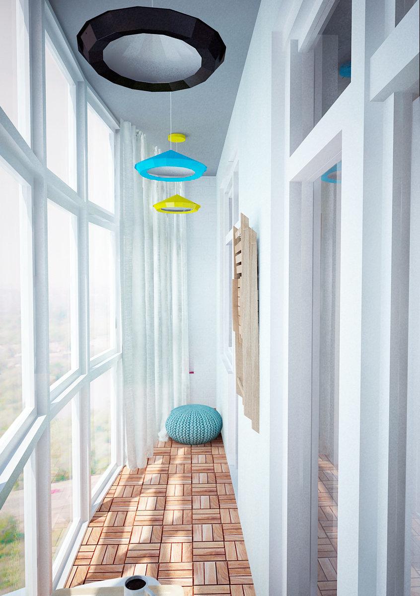 Фотография: Балкон, Терраса в стиле Лофт, Скандинавский, Квартира, Дома и квартиры, IKEA, Проект недели – фото на InMyRoom.ru