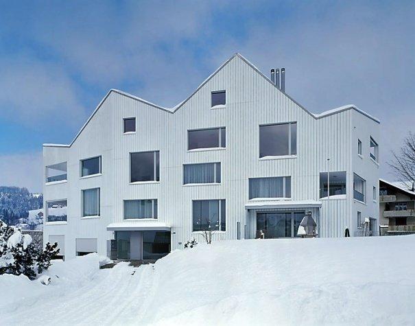 Фасад дома, Швейцария