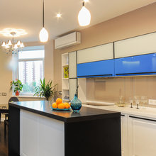 Фотография: Кухня и столовая в стиле Современный, Квартира, Дома и квартиры, Галерея Арбен – фото на InMyRoom.ru