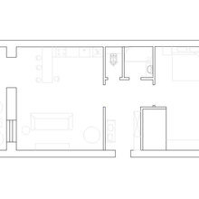 Фотография: Планировки в стиле , Декор интерьера, Квартира, Дома и квартиры, Минимализм, Проект недели – фото на InMyRoom.ru