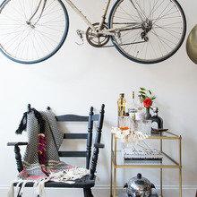 Фото из портфолио Велосипед в качестве ДЕКОРА? А почему бы и нет)))))   – фотографии дизайна интерьеров на INMYROOM