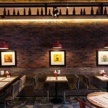 Фото из портфолио Бургерная Ketch Up Burgers на Литейном – фотографии дизайна интерьеров на INMYROOM