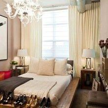 Фотография: Спальня в стиле Эклектика, Гардеробная, Декор интерьера, Интерьер комнат, Системы хранения, Кровать, Гардероб – фото на InMyRoom.ru