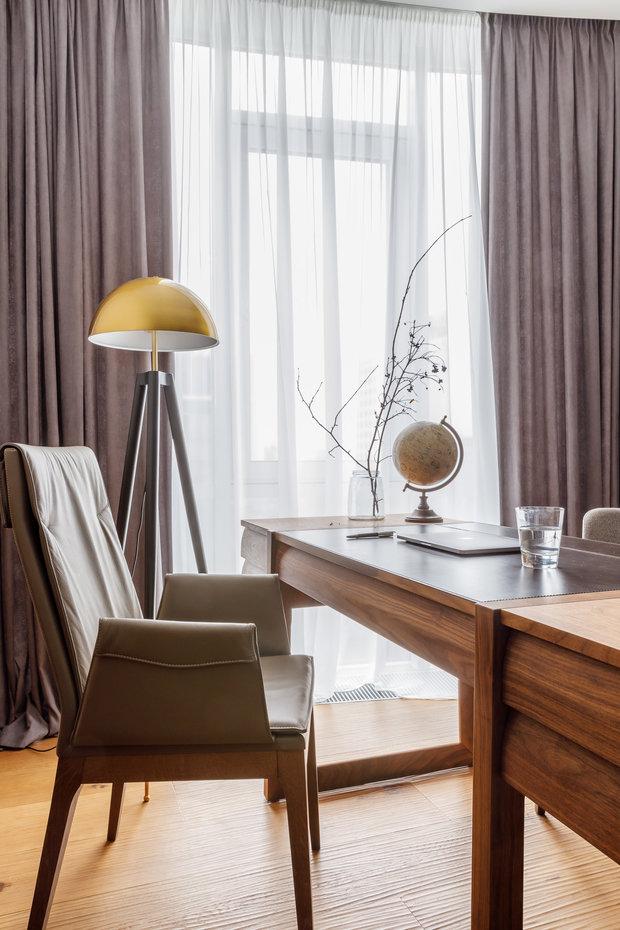 Фотография: Кабинет в стиле Современный, Квартира, Проект недели, Москва, Архитектурная студия «ЧАДО», 4 и больше, Более 90 метров – фото на INMYROOM