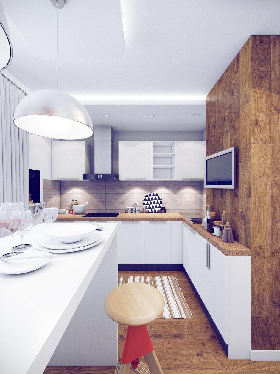 Фотография: Кухня и столовая в стиле Лофт, Современный, Квартира, Дома и квартиры, Москва – фото на InMyRoom.ru