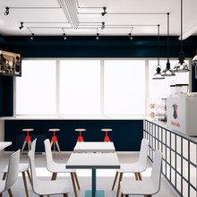 Фото из портфолио Кофейня Cultura Coffee – фотографии дизайна интерьеров на InMyRoom.ru