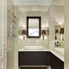 Фотография: Ванная в стиле Классический, Эклектика, Квартира, Дома и квартиры – фото на InMyRoom.ru