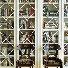 Фотография: Мебель и свет в стиле Кантри, Декор интерьера, Декор, Домашняя библиотека, как разместить книги в интерьере, книги в интерьере – фото на InMyRoom.ru