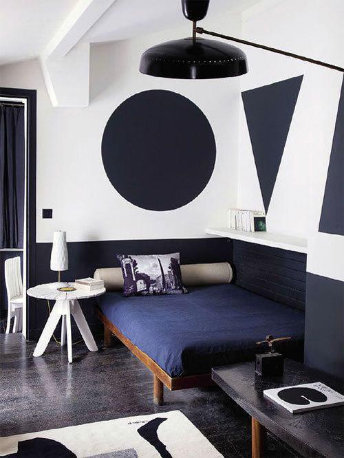 Фотография: Спальня в стиле Хай-тек, Классический, Современный, Декор интерьера, Декор дома, Цвет в интерьере, Советы, Картина, Неоклассика – фото на InMyRoom.ru