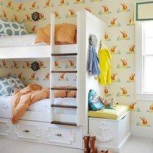 Фотография: Детская в стиле Кантри, Дом, Цвет в интерьере, Дома и квартиры – фото на InMyRoom.ru