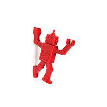 Магнитный крючок для холодильника robohook красный