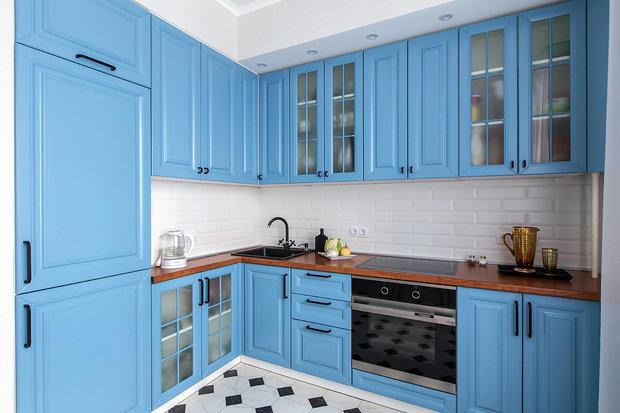 Фотография: Кухня и столовая в стиле Скандинавский, Советы, Краска – фото на INMYROOM