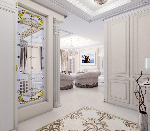 Фото из портфолио Квартира в классическом стиле в светлых тонах – фотографии дизайна интерьеров на INMYROOM